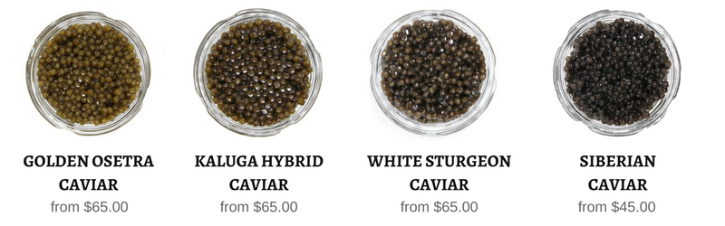All black caviar in stock