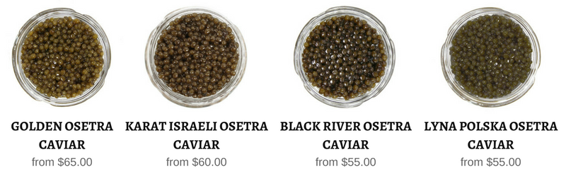 all caviar in stock