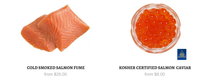 Salmon Caviar - Smoked Salmon