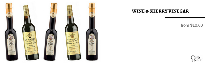 Wine Vinegar and Sherry Vinegar